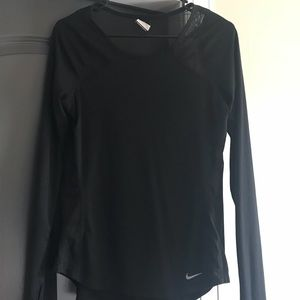 Nike long sleeve dry fit shirt